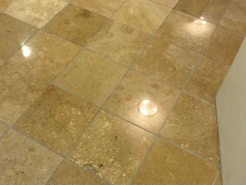 Travertine robert falzone for Trisodium phosphate for cleaning concrete